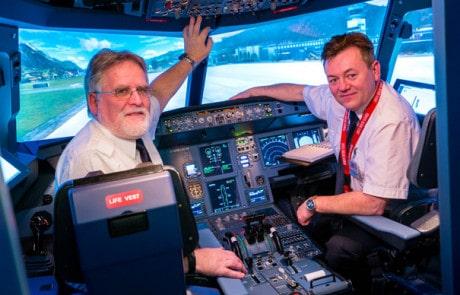 Flugsimulator Dresden Cockpit