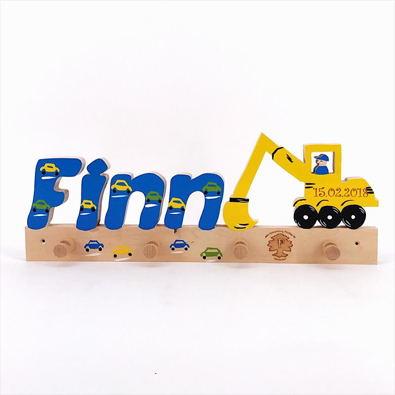 Holzspielzeug Pfeiffer Garderobe Finn